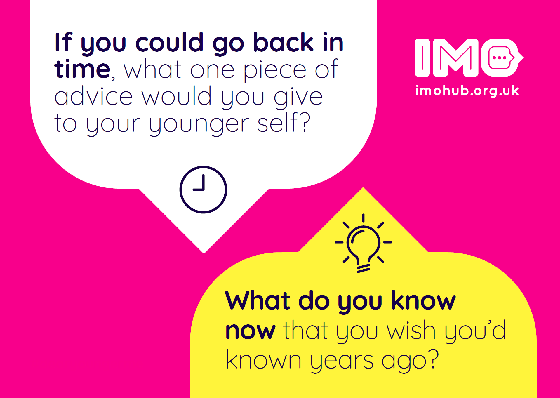 Dear younger me: advice to my younger self